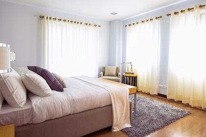 きれいな寝室