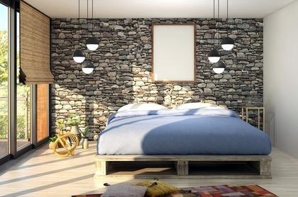 ひがさす寝室