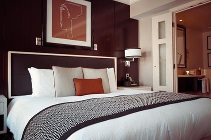 豪華な寝室