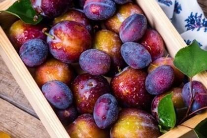 果物の入った箱
