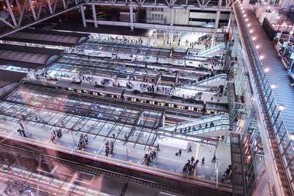 JR大阪駅のホーム