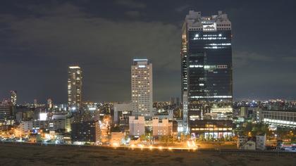 梅田スカイビル群の景色