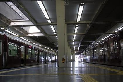 阪急梅田駅の駅構内