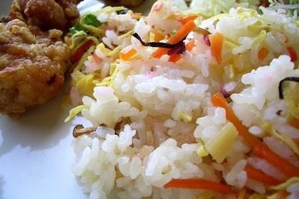 ちらし寿司の写真