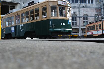 広島駅の路面電車