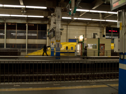 広島駅のホーム