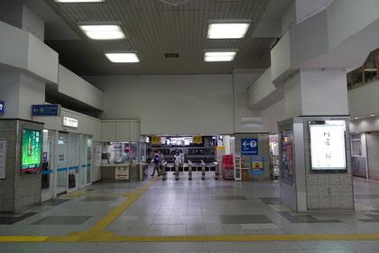 広島駅の改札