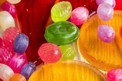 虹色のキャンディー