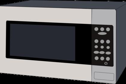 お弁当箱を温める電子レンジ