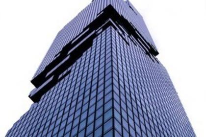 見上げたビル