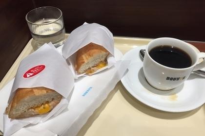 ドトールのコーヒーと軽食