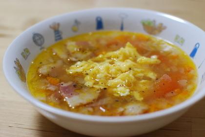 美味しいコンソメスープ