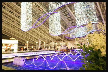 JR大阪のイルミネーション