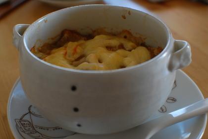 手作りのスープ