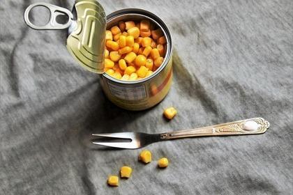 缶詰入りの野菜