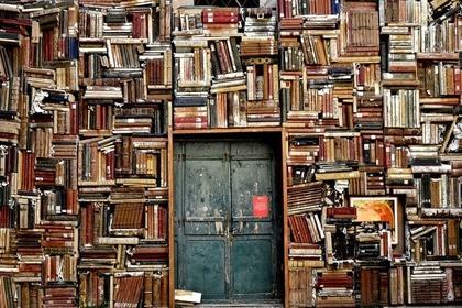 本がたくさんある場所
