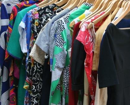 いろいろな素材の服
