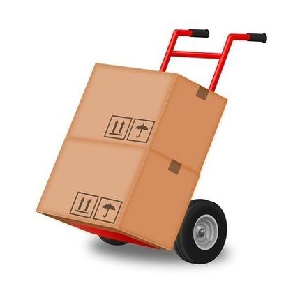荷物を運ぶ