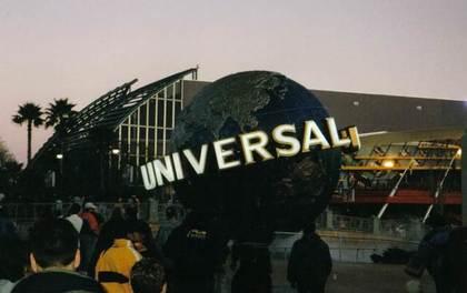 ユニバの地球儀