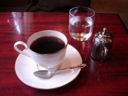 落ち着きのある喫茶店