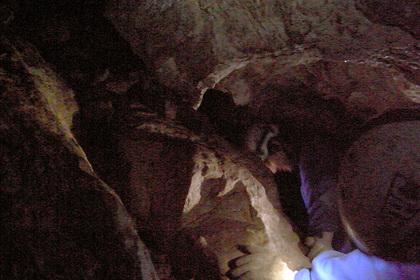 綺麗な洞窟