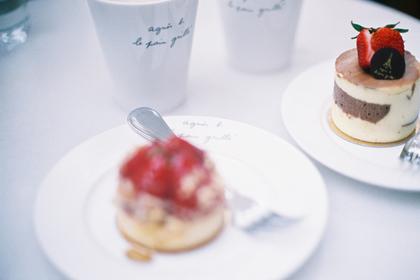 アニエス・ベーのカフェ