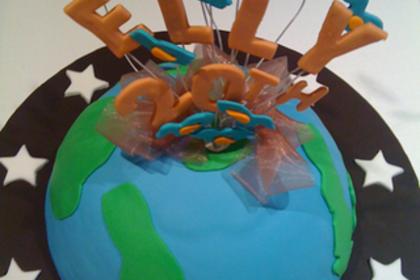 惑星のケーキ