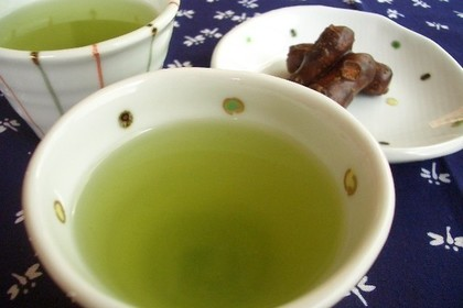 二つの緑茶