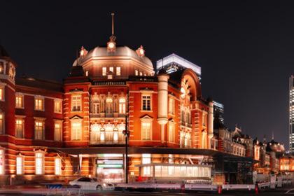 綺麗な東京駅