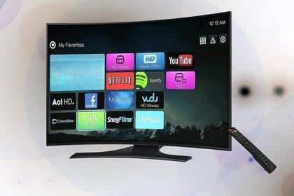 テレビの液晶画面
