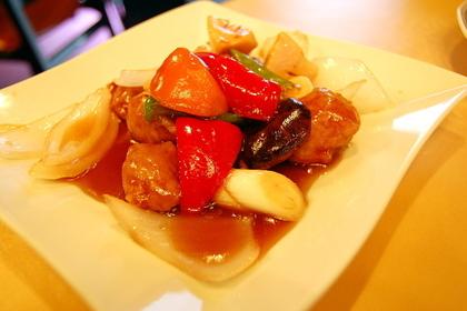 美味しい酢豚