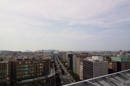 JR博多シティの展望台