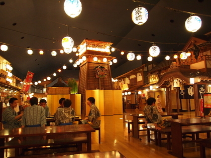 東京お台場 大江戸温泉物語の風景