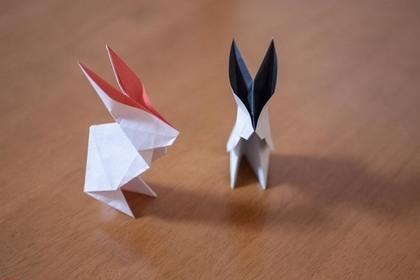 兎の折り紙