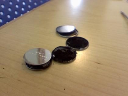 色々なリチウムコイン電池