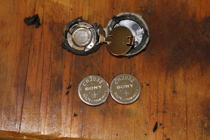 SONYのリチウムコイン電池