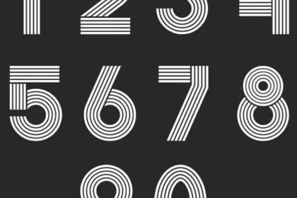 数字の羅列