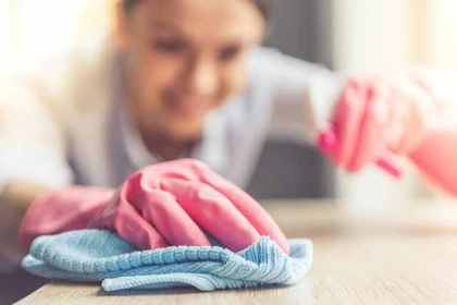 家庭的で掃除が得意な女性