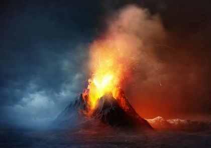 火山の噴火