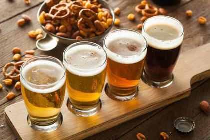 並ぶ各種ビール