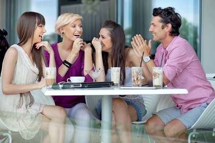 楽しくお茶するグループ