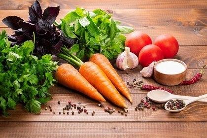野菜を多く食べる