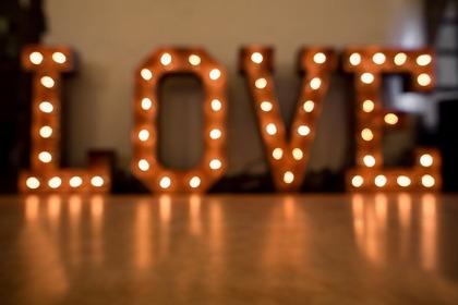 LOVEのランプ