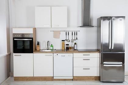キッチンと冷蔵庫