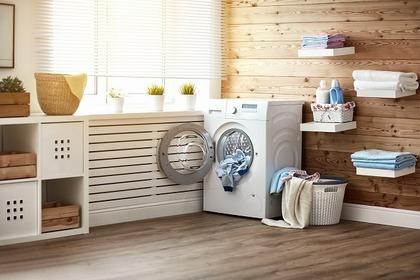 シンプルな洗濯機