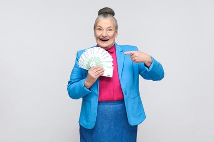 祖母にお金をもらう