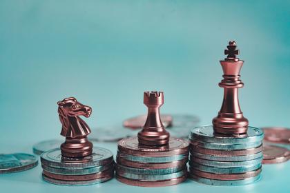 チェス駒とコイン