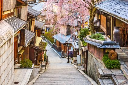 古い町並みの風景