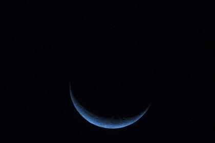 月食の風景