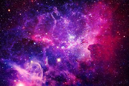 ピンクの銀河